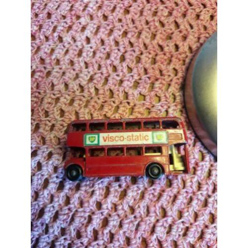 lesney 5d routemaster 1965 mooi compleet model