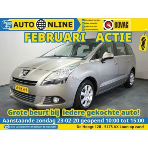Peugeot 5008 1.6 HDiF ST 5p. AIRCO automaat APK nieuw