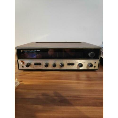Kenwood KR-3130 Solid State am/fm receiver woodgrain