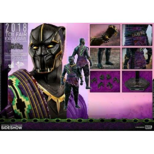 Hot Toys Black Panther MMS AF 1/6 T'Chaka 2018 Toy Fair Exc.