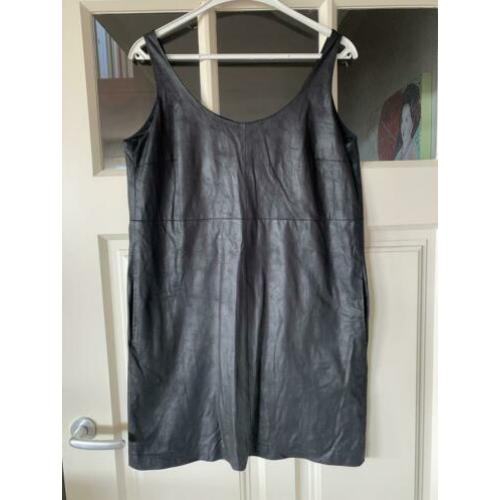 Drykorn leather look jurk